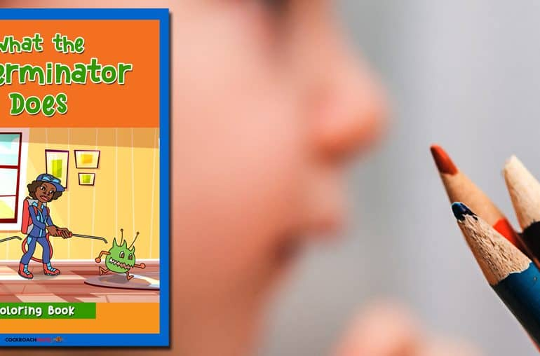 Coloring Book: What the Exterminator Does